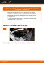 Montare Placute Frana MERCEDES-BENZ B-CLASS (W245) - tutoriale pas cu pas