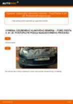 Online návod, ako svojpomocne vymeniť Čap riadenia na aute FORD FIESTA V (JH_, JD_)