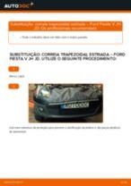 Recomendações do mecânico de automóveis sobre a substituição de FORD Ford Fiesta V jh jd 1.4 16V Amortecedor Da Mala