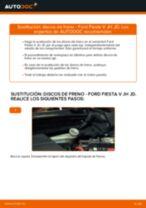 Cambiar Discos de Freno FORD FIESTA: manual de taller