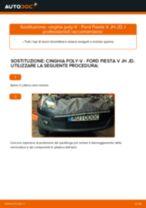 Come cambiare cinghia poly-V su Ford Fiesta V JH JD - Guida alla sostituzione