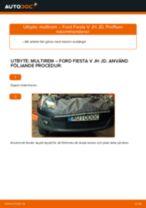PDF guide för byta: Flerspårsrem FORD Fiesta Mk5 Hatchback (JH1, JD1, JH3, JD3)