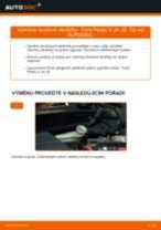 Instalace Brzdové Destičky FORD FIESTA V (JH_, JD_) - příručky krok za krokem