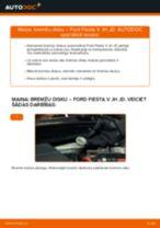 Ford Fiesta Mk6 Sedan instrukcijas par remontu un apkopi