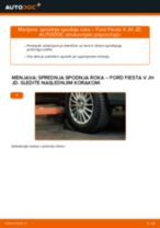 Avtomehanična priporočil za zamenjavo FORD Ford Fiesta V jh jd 1.4 16V Rebrasti jermen