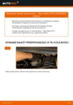 Jak wymienić klocki hamulcowe przód w Opel Zafira F75 - poradnik naprawy