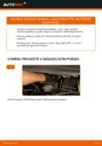 Jak vyměnit přední brzdové destičky na Opel Zafira F75 – návod k výměně