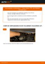 Hoe remblokken vooraan vervangen bij een Opel Zafira F75 – vervangingshandleiding