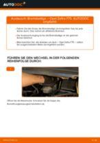 Stabilisator erneuern OPEL ZAFIRA: Werkstatthandbücher