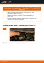 OPEL Zafira Life (K0) reparations- og vedligeholdelsesvejledning