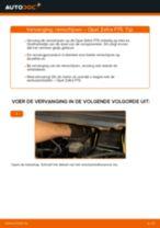 Hoe remschijven vooraan vervangen bij een Opel Zafira F75 – vervangingshandleiding