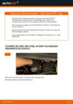 Bremsscheiben vorne selber wechseln: Opel Zafira F75 - Austauschanleitung