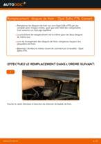 Comment changer : disques de frein avant sur Opel Zafira F75 - Guide de remplacement