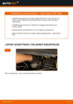 Trin-for-trin reparationsvejledning til OPEL SINTRA