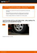 Cómo cambiar: rótula de dirección - Opel Zafira F75 | Guía de sustitución