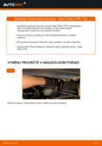 Jak vyměnit přední brzdové kotouče na Opel Zafira F75 – návod k výměně