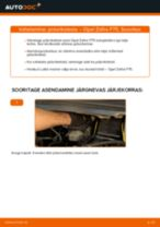 Kuidas vahetada Opel Zafira F75 esi-piduriketaste – õpetus