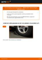 Aanslagrubber vering veranderen: pdf handleidingen voor BMW 5 SERIES