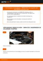 Hoe remschijven vooraan vervangen bij een BMW E39 – Leidraad voor bij het vervangen