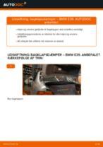 Udskift bagklapsdæmper - BMW E39 | Brugeranvisning