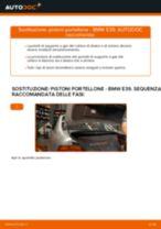 PDF manuale di sostituzione: Ammortizzatore portellone posteriore BMW 5 Sedan (E39)