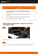 Online manual on changing Motor mount yourself on BMW 5 (E39)