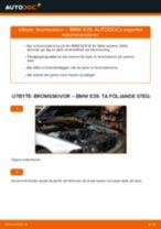 Byta bromsskivor fram på BMW E39 – utbytesguide