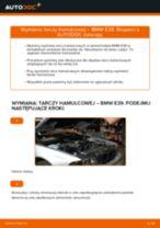Jak wymienić tarcze hamulcowe przód w BMW E39 - poradnik naprawy