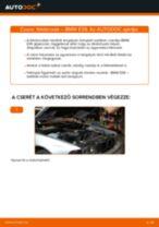 Cseréljünk Féktárcsa BMW 5 SERIES: felhasználói kézikönyv