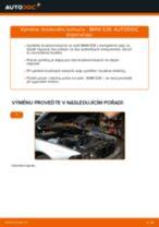 Jak vyměnit zadní brzdové kotouče na BMW E39 – návod k výměně