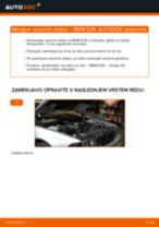 Kako zamenjati avtodel zavorni diski zadaj na avtu BMW E39 – vodnik menjave
