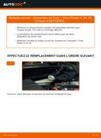 Comment effectuer un remplacement de Plaquettes de Frein sur 1.4 TDCi Ford Fiesta Mk5