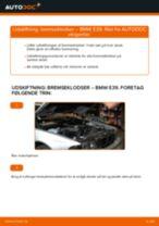 Udskift bremseklodser for - BMW E39 | Brugeranvisning