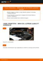 Hátsó fékbetétek-csere BMW E39 gépkocsin – Útmutató