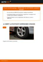 Elülső kerékcsapágy-csere BMW E39 gépkocsin – Útmutató