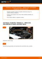 BMW 5 SERIES Stabdžių Kaladėlės keitimas: nemokamas pdf