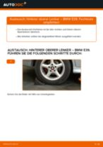 PDF-Anleitung zur Wartung für 5er