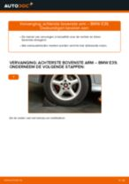 Zelf Draagarm wielophanging achter en vóór vervangen BMW - online handleidingen pdf