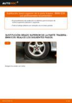 Cómo cambiar: brazo superior de la parte trasera - BMW E39 | Guía de sustitución