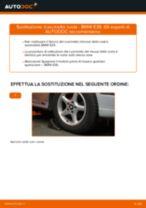 PDF manuale di sostituzione: Cuscinetto mozzo ruota BMW 5 Sedan (E39) posteriore e anteriore