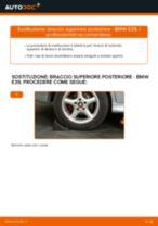 Come cambiare braccio superiore posteriore su BMW E39 - Guida alla sostituzione