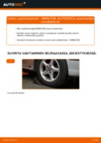 Kuinka vaihtaa pyöränlaakerit eteen BMW E39-autoon – vaihto-ohje
