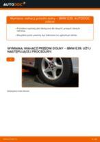 Jak wymienić wahacz przedni dolny w BMW E39 - poradnik naprawy