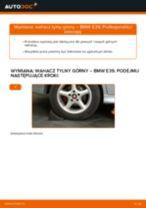 Jak wymienić wahacz tylny górny w BMW E39 - poradnik naprawy