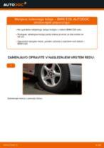 BMW E39 Touring navodila za popravilo in vzdrževanje