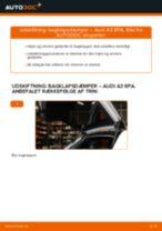 Trin-for-trin reparationsvejledning til Audi A3 8p1