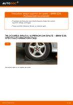 Cum să schimbați: brațul superior din spate la BMW E39 | Ghid de înlocuire