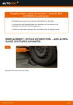 Comment changer : rotule de rirection sur Audi A3 8PA - Guide de remplacement