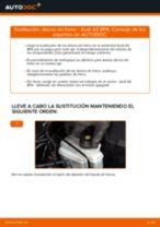 Guía de reparación paso a paso para Audi A3 Sportback 8P