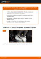 PDF manuale di sostituzione: Kit dischi freno AUDI A3 Sportback (8PA) posteriore e anteriore